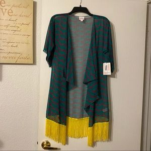 Lularoe Monroe Kimono Size Small NWT
